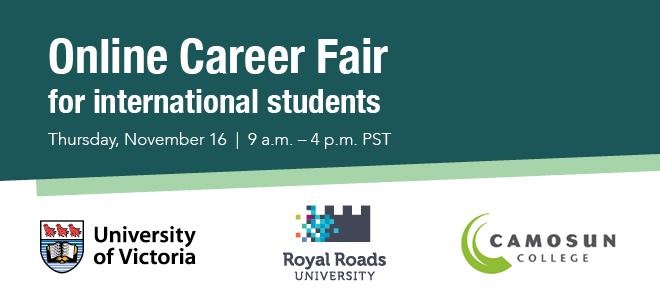 Online Career Fair for international students